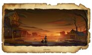Wild West Concept art from Thieves in Time