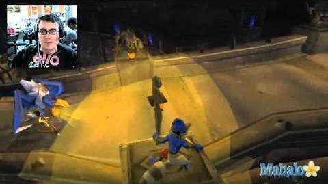 Sly 2 Band of Thieves Walkthrough - Disguise Bridge