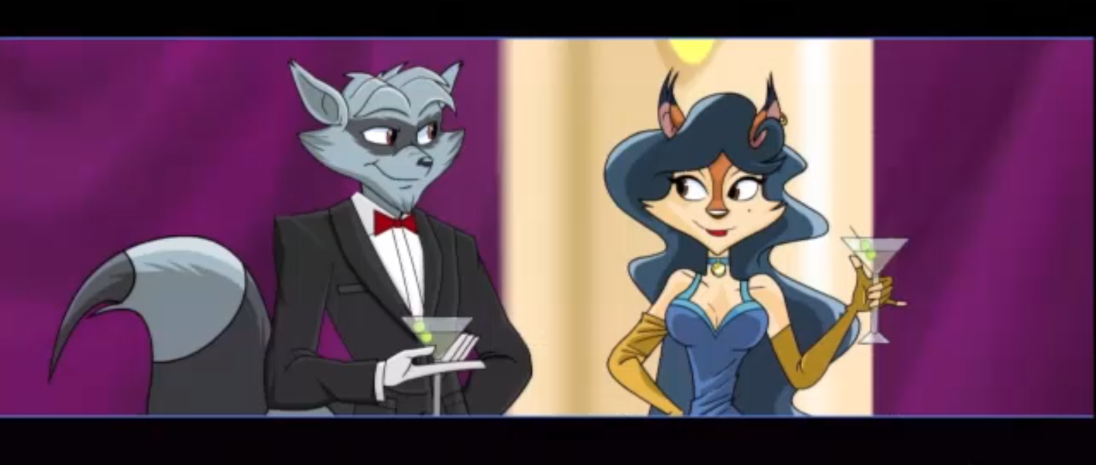 Image result for sly cooper thieves in time cutscenes