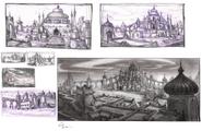 Arabia sketches layout paul sullivan