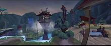 Kunlun Mountains overview as seen in Sly 3- Honor Among Thieves