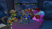Safe house gameplay from Sly 2