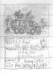 Armor Lorry Mk2