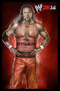 WWE2K14 Kevin Nash Outsiders