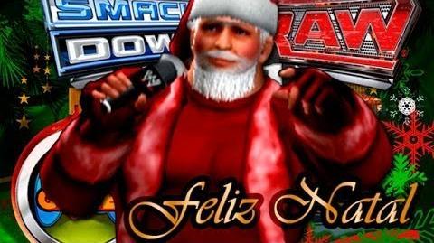 Feliz Natal para todos Papai Noel WWE 2011