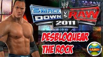 Desbloquear The Rock WWE Smackdown vs. Raw 2011