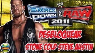 Desbloquear Stone Cold - Steve Austin WWE Smackdown vs. Raw 2011
