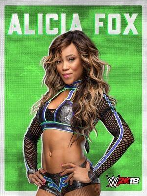 Alicia Fox 2K18