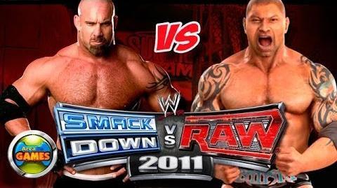 SvR Bil Goldberg vs Batista 2011 (CAW)