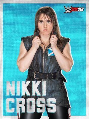 Nikki Cross 2K18