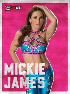 Mickie James 2K18