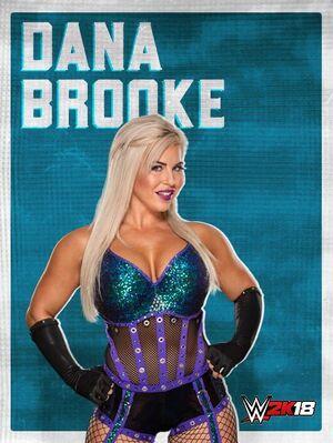 Dana Brooke 2K18