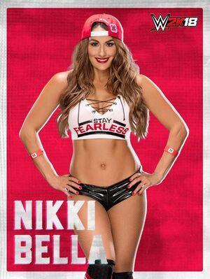 Nikki Bella 2K18