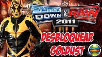 Desbloquear Goldust WWE Smackdown vs Raw 2011