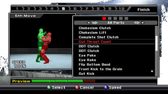 SmackDownvsRaw09 - Finisher