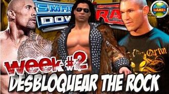 Desbloquear The Rock SvR 2011 Week2 - Principal