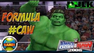 The Hulk Smackdown vs Raw WWE CAW 2008