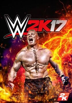 WWE 2K17 cover