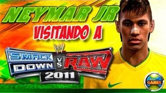 Neymar Jr WWE SmackDown vs RAW 2011