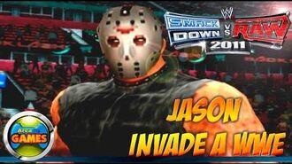 Sexta Feira 13 Jason invade Smackdown vs RAW 2011