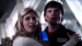 Clark and Lara (Smallville)