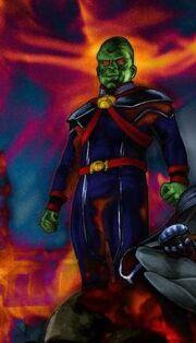 Martian Manhunter Cmallville comics