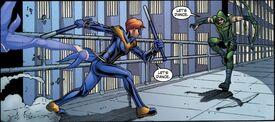 Batgirl Smallville SVNightwing v Arrow