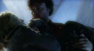 Clark saves Chloe at Fortress of Solitude