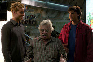 Jeannot Szwarc with Justin Hartley and Tom Welling from Reunion