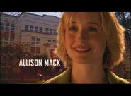 Smallville - Opening Sequence - Allison Mack
