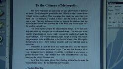 Clarks letter