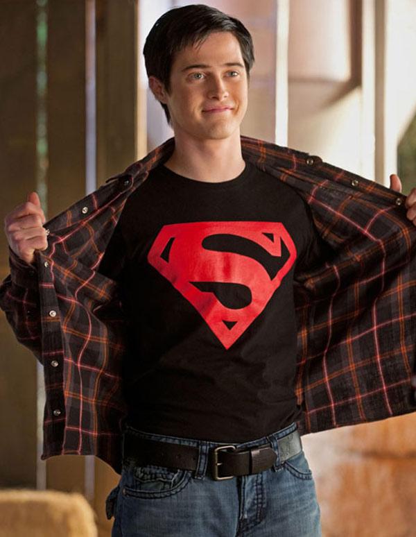Official licensed-superman-noël héros sweat-shirt krypton