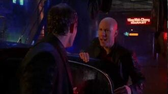 Smallville 2x15 Lex finds Lucas, the son Lionel gave up for adoption