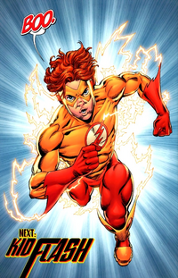 Kid Flash Bart Allen 002