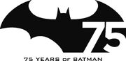 Batman75 logo