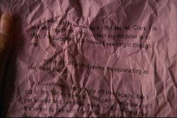 Chloe's letter