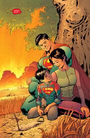 The Kent family Lois-Clark-Jon