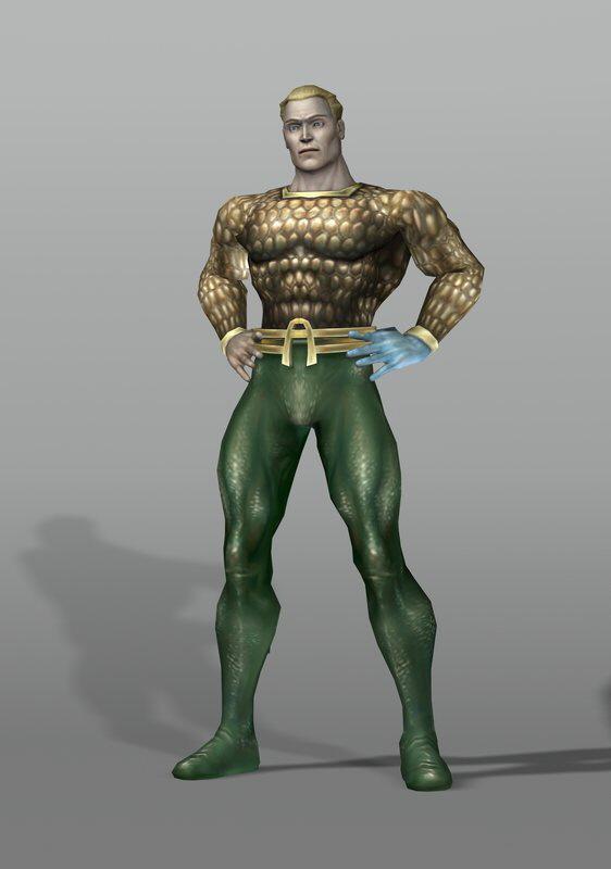 Justice League Heroes Aquaman