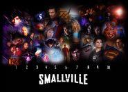 Smallville 10 years wallpaper by kyl el7-d3i81uw