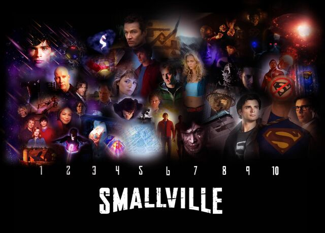image smallville 10 years wallpaper by kyl el7d3i81uw