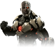 Cyborg injustice 2 render