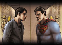 Superman or Clark, what a dilemma!!!