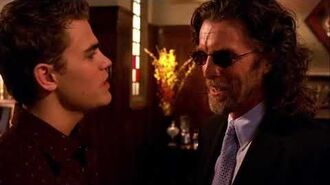 Smallville 2x15 Lucas uncover the truth about Lionel's blindness