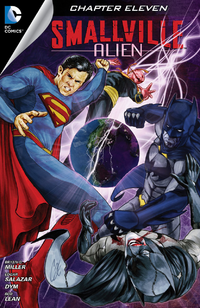 Smallville S11 Alien I04 - Digital Cover A