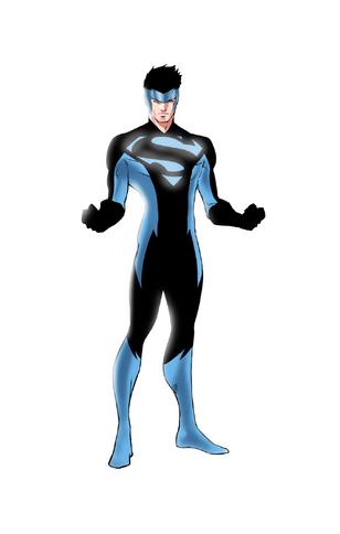 Superman blue costume speed