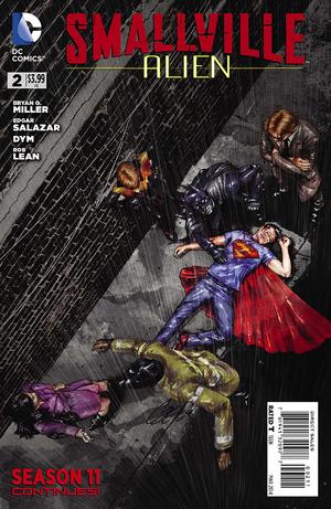 Smallville S11 Alien I02 - Cover A