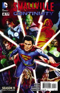 Smallville S11 Continuity I04 - Cover A