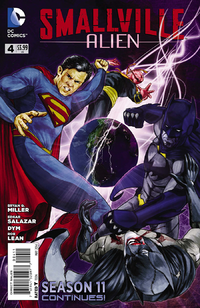 Smallville S11 Alien I04 - Cover A