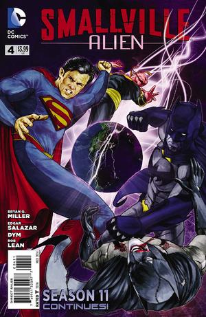 Smallville S11 Alien I04 - Cover A