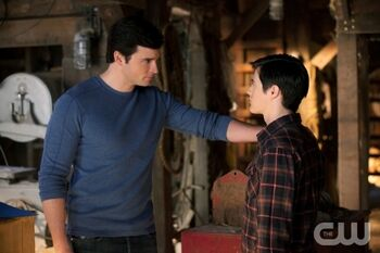 Clark and Conner (Smallville)